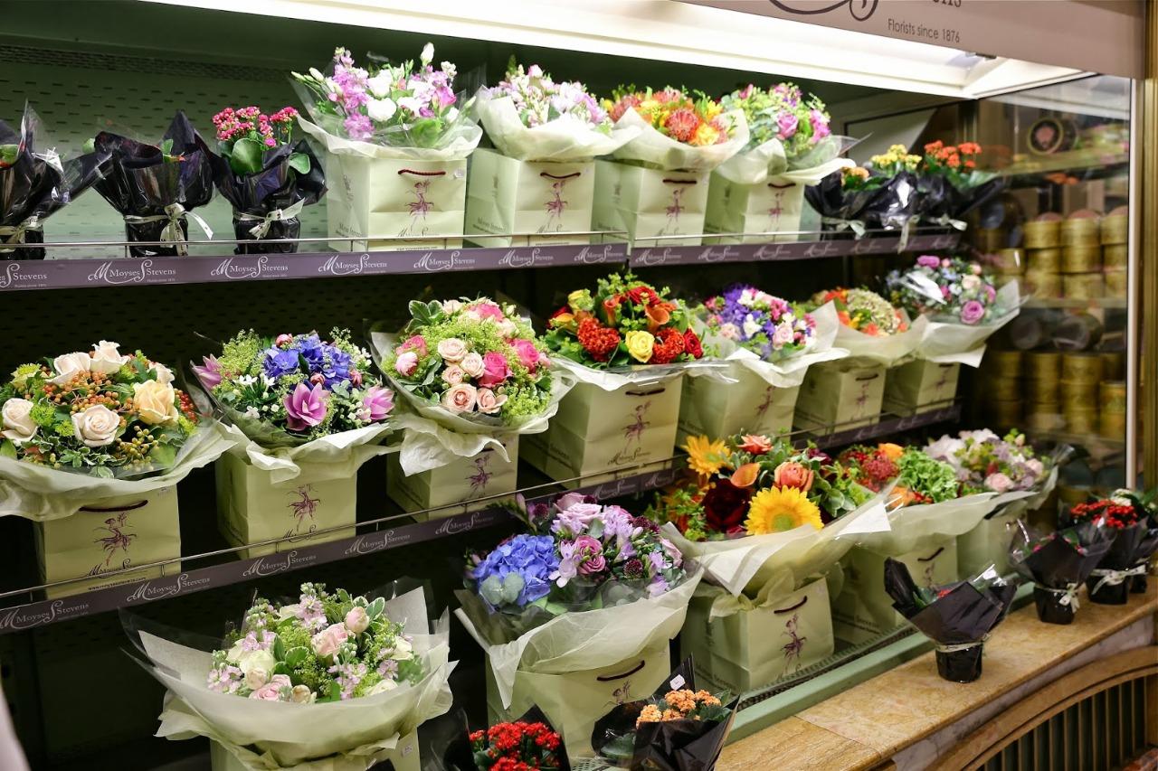 Витрина цветочного магазина фото 6